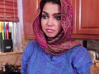 EmpFlix Porno - Brunette Muslim Teen Ada Fills Her Pussy With Warm Jizz Porn Videos