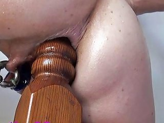 XHamster Porno - Extreme Anal Fucking Insertions Fisting Self Bedpost