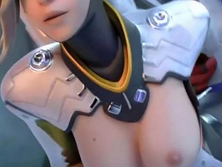 PornHub Porno - D Va Widowmaker Mercy Hot Passionate Sex Best Animation Surprise At End