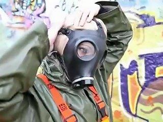 PornHub Porno - Rainwear And Gasmask