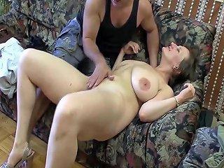 GotPorn Porno - Chubby Milf First Deep Anal Sex