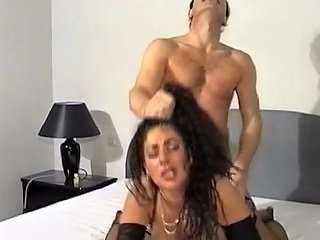 BravoTeens Porno - Busty Milf With Big Tits In Hardcore Titjob With Hair Pulling