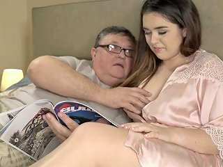 AnySex Porno - Lovely Spanish Babe Diana Rius Is Fucked By Ugly Four Eyed Old Dude
