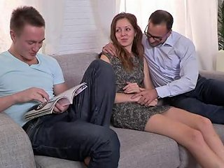 AnyPorn Porno - A Cuckold Video Where A Husband Watches His Wife Get Fucked Any Porn