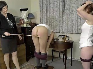 JizzBunker Porno - Rose Caning