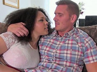 XCafe Porno - Voluptuous Frizzy Haired Brunette Gets Her Meaty Cunt Nailed Mish Hard
