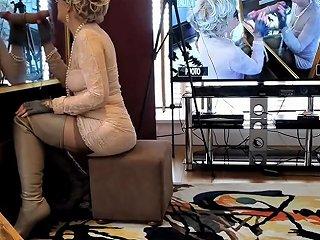TXxx Porno - Thigh Boots Lipstick MILF Deepthroats At Mirror Gloryhole Txxx Com