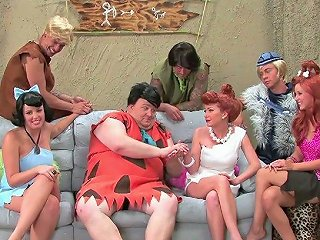 AnySex Porno - Exciting The Flintstones Xxx Parody