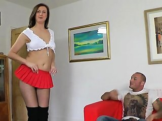 DrTuber Porno - Tall English Mature Spunked In Mouth Drtuber